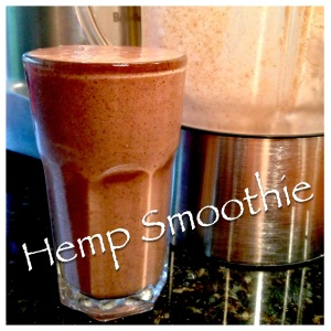 Hemp Smoothie without Kale
