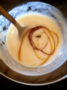 Rice Cream w/ Maple Syrup