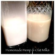 Hemp & Oat Milks