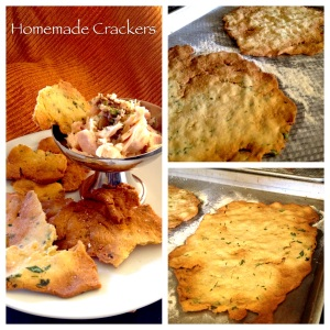 Homemade Rice Crackers